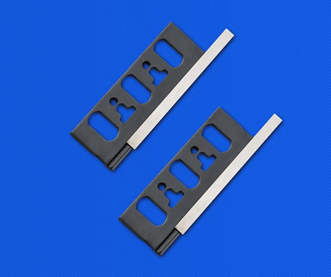 双刃可换面刨刀片组合  TCT